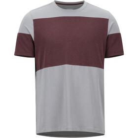 Marmot Gualala Point SS Shirt Herre grey storm/burgundy